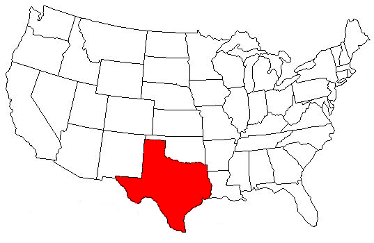 Fun Facts About Texas Killeen Homes Texas Heritage Real Estate - Texas on the us map